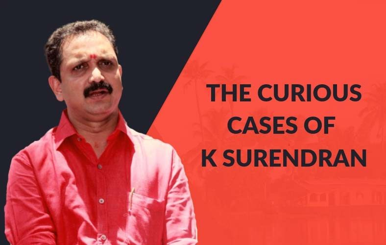 K. Surendran: BJP Candidate from Kerala with 242 crime records